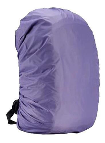 capa chuva mochila impermeável motoboy viagem mala elástico