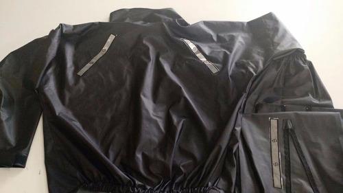 capa chuva motoqueiro moto p m g ou gg impermeável reforçada