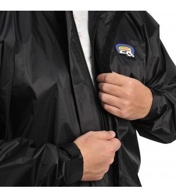 capa chuva nylon califórnia racing motoqueiro conjunto g