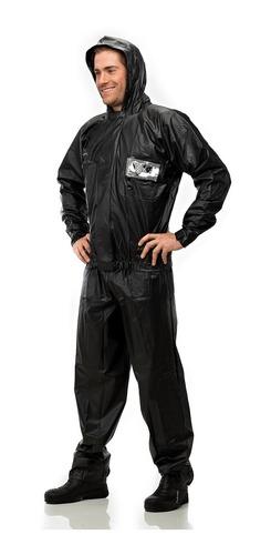 capa chuva pantaneiro roupa motoqueiro pvc capuz masculina