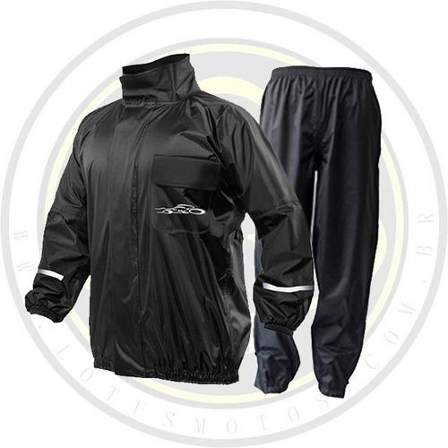capa chuva pb passo bom moto motoboy preta exgg especial