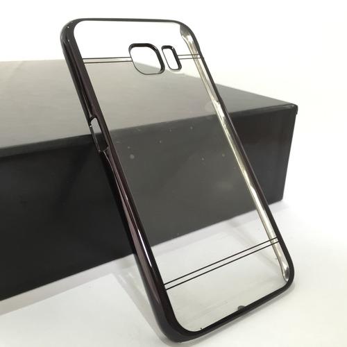 capa clear galaxy s6 + película de vidro g920