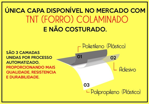 capa cobrir camionete 100% impermeavel nissan frontier