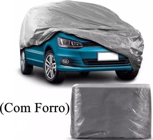 capa cobrir carro 100% impermeavél p m g  forrada 'grossa'