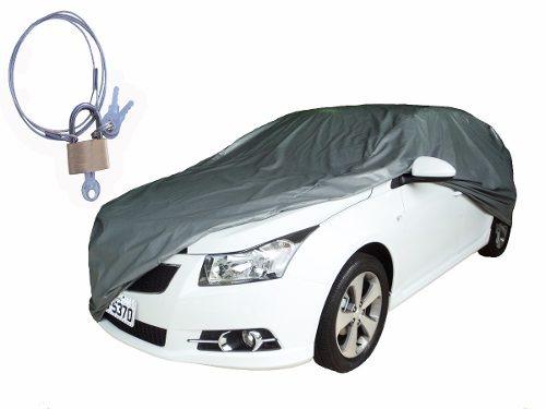 Capa Cobrir Carro Gm Corsa Sedan 100 Forro Imperm Cadeado R 124