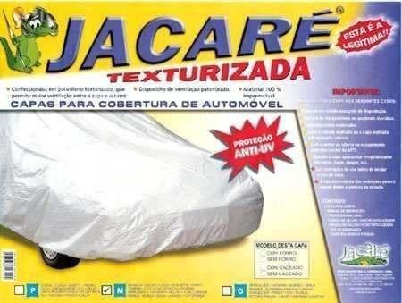 capa cobrir carro jacaré 100% forrada p/ gm trailblazer