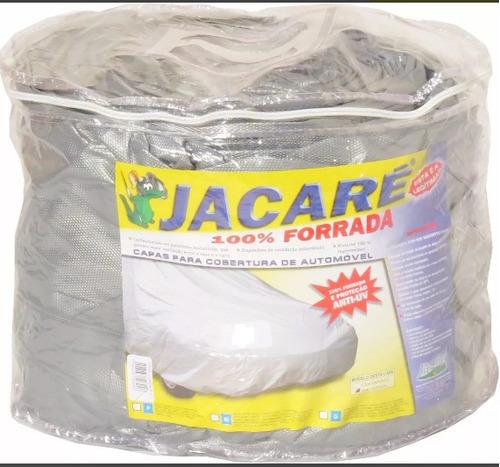 capa cobrir carro jacaré tamanho especial c/ forro total s3