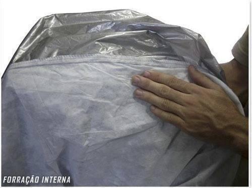capa cobrir jacaré forrada 100% impermeável p/ honda fit
