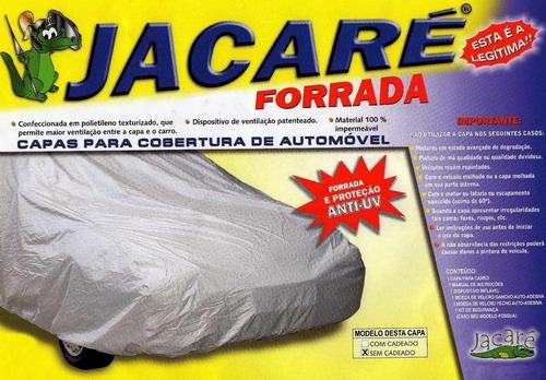 capa cobrir jacaré forrada 100% impermeável p/ vw up