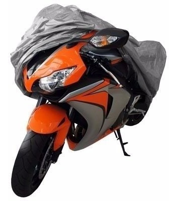 capa cobrir moto bezi 100% forrada impermeável p/ titan 125