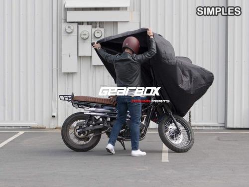capa cobrir moto citycom 300i térmica forrada anti-chamas