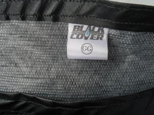 capa cobrir moto com forração anti-chamas impermeável gg