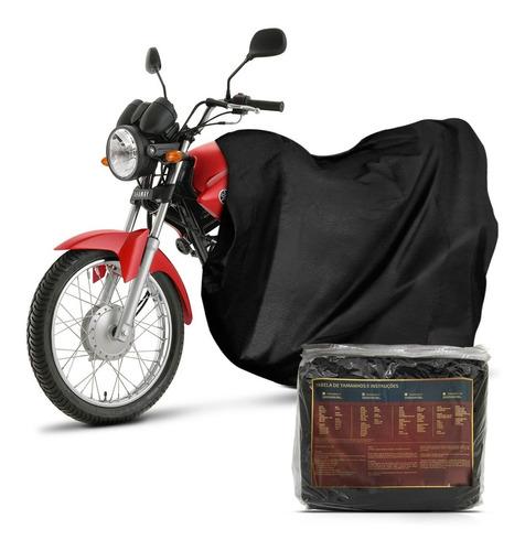 capa cobrir moto couro ecológico impermeável p