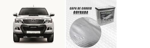 capa cobrir pick up  100% impermeavel toyota hillux sw4 2011