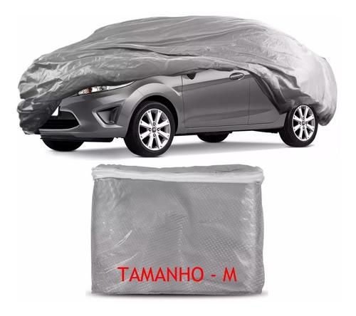 capa cobrir veículo forrada proteção uv p m g