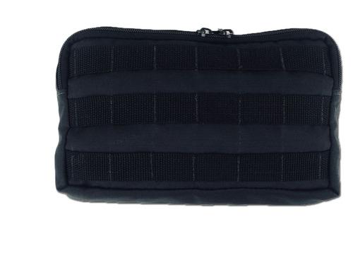 capa colete para placa balistica profissional + acessorios