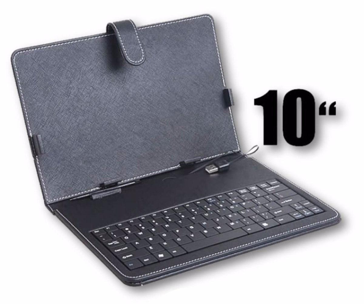 e0c3f852b Capa Com Teclado Usb Para Tablet Case Tela De 10 Polegadas - R  20 ...