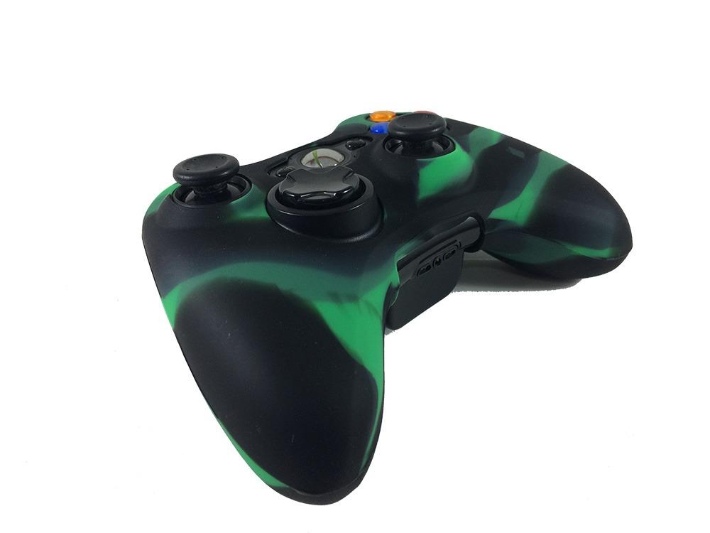 Capa Silicone Controle Xbox 360 Oem Fr-313 - R  12,93 em Mercado Livre ffc61fa9de