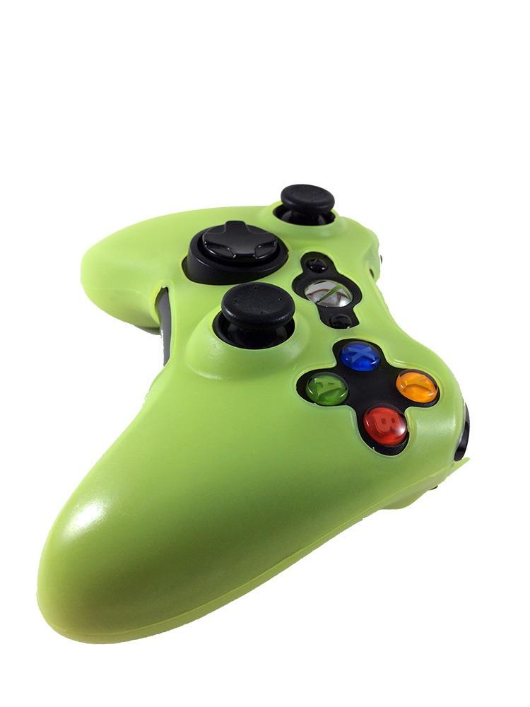 Capa Silicone Controle Xbox 360 Oem Fr-313 - Verde Claro - R  12,93 ... 02a5cbfb83