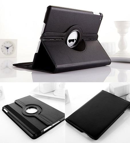 capa couro giratória+ pelicula vidro ipad pro 9,7 polegadas