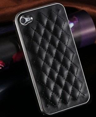 capa couro para o iphone 5 5s 5 g / 4 4s 4 g