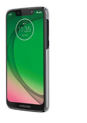 capa cristal case moto g7 play original transparente