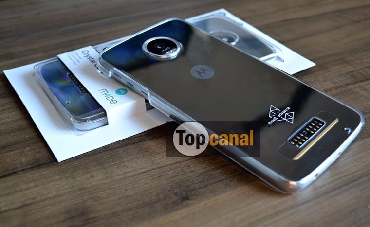 ee38cd777ac Capa Cristal Case Para Moto Z Play Original Muvit (motorola) - R$ 49 ...