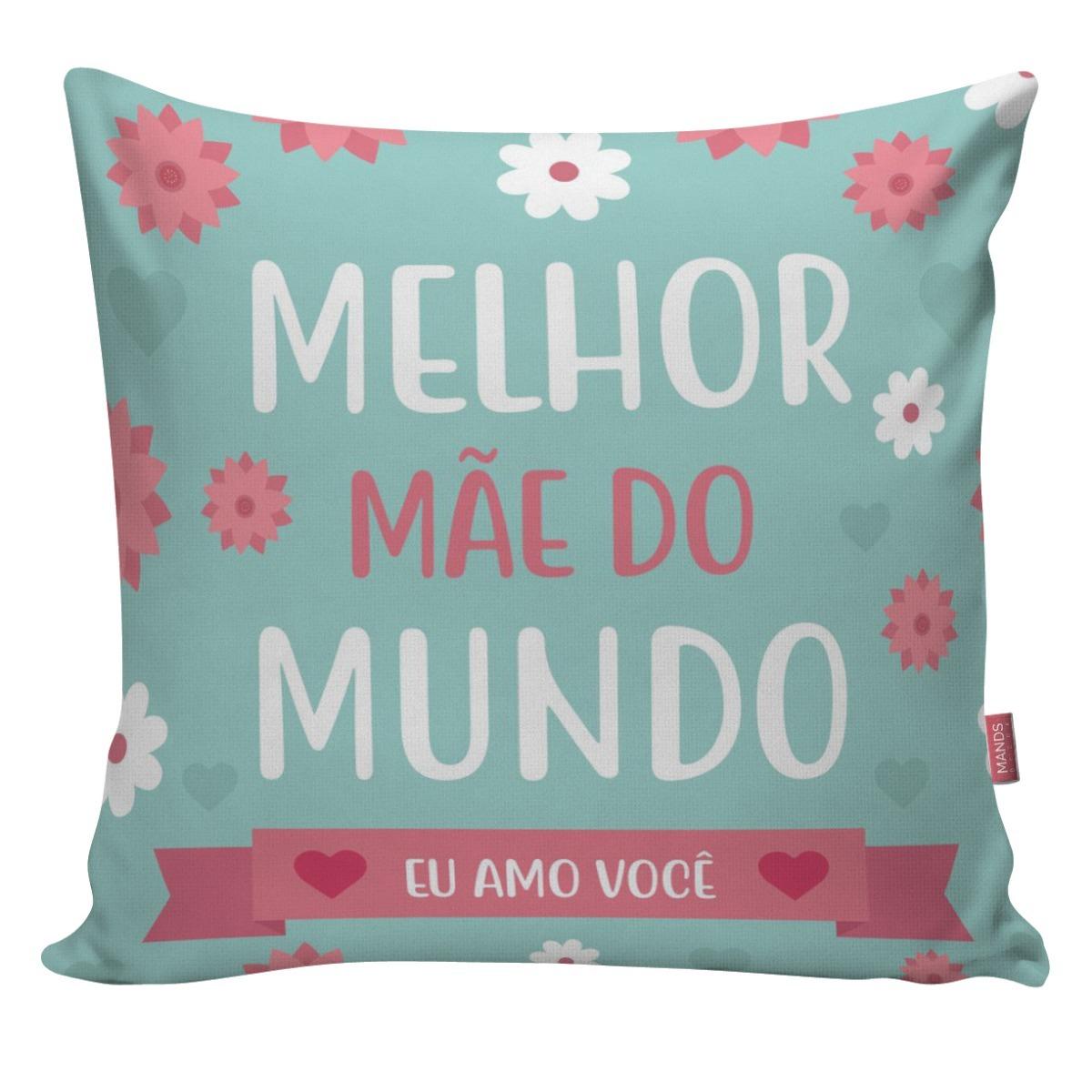 52f7e5d8b4f218 Capa De Almofada Decorativa Dia Das Mães Presente Mãe 19