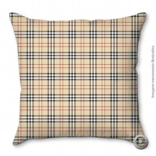 capa de almofada haus for fun escoces 40x40