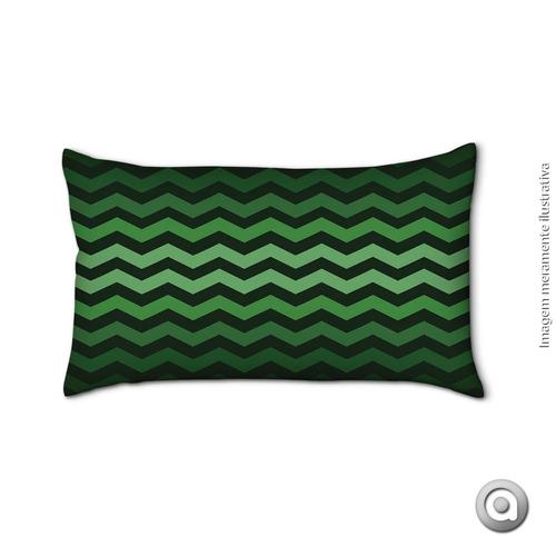 capa de almofada haus for fun esmeralda 3 20x38