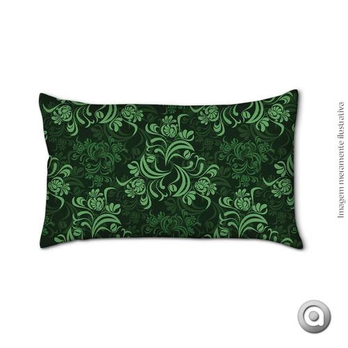 capa de almofada haus for fun esmeralda 7 20x38