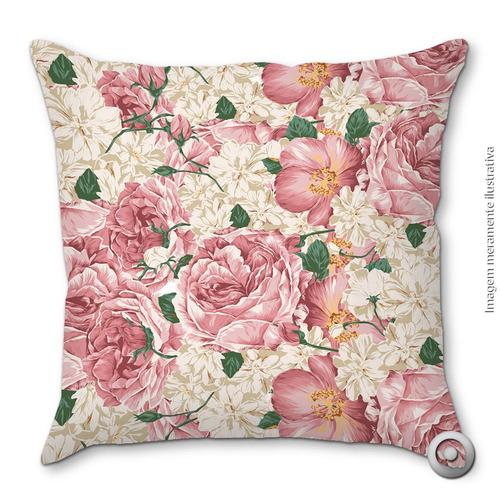 capa de almofada haus for fun floral 21 chita 40x40