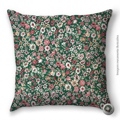 capa de almofada haus for fun mini floral cores 40x40