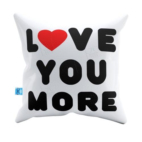 37440f5f968b93 Capa De Almofada Love You More Pelúcia 40x40 Almofadageek