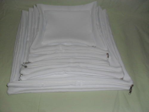 capa de almofada sublimação 30x30 10 unidades com enchimento