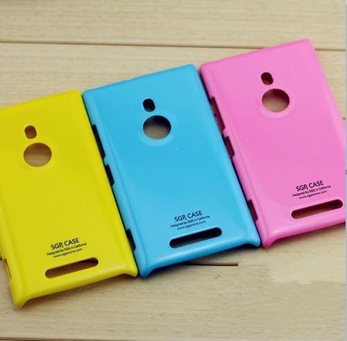 capa de alta qualidade sgp para nokia lumia 925 - amarela