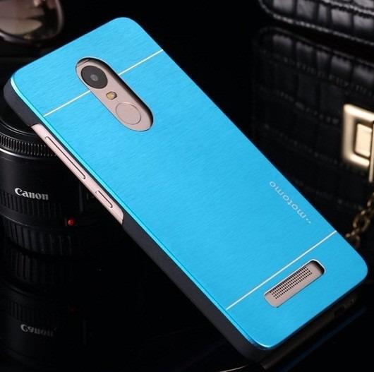 Capa De Aluminio Azul Xiaomi Redmi Note 3 Pro Prime Pelicula