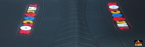 capa de banco antiderrapante pra moto dafra speed 150 preta