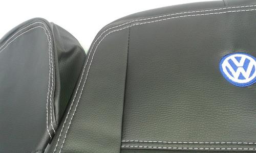 capa de banco courvin couro gol g2/g3/g4 97/09 02 portas