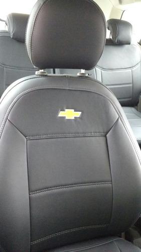 capa de banco em couro automotivo courvin gm spin 07 lugares