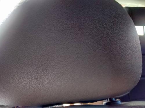 capa de banco em couro courvin gol g3 g4 g5 com logo
