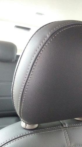 capa de banco gm spin 05 lug. em couro automotivo ecológico