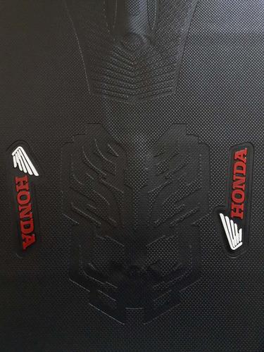 capa de banco moto honda emborrachada bros, xre 300, falcon