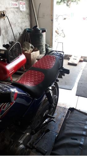 capa de banco para motos