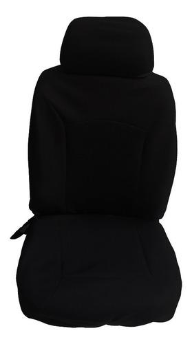capa de banco preto fabricado em neoprene - universal