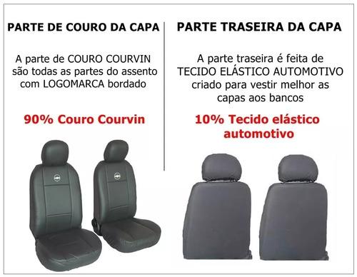 capa de bancos automotivos couro prisma 2015/2016/2017/2018