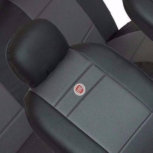 capa de bancos couro automotivas com logo p/ gol g2 g3 g4