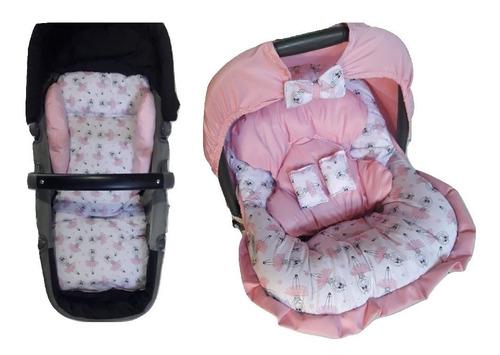 capa de bebe conforto +colchonete carrinho graco/cosco/chico