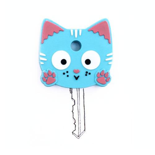 capa de chave gatinho azul