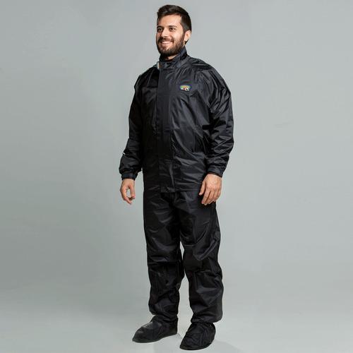 capa de chuva califórnia racing nylon motoqueiro motoboy